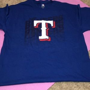 Texas Rangers Baseball Tee Shirt